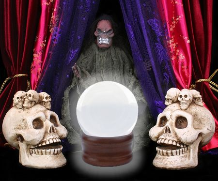 Crystal Ball - Halloween Party Decorating Idea