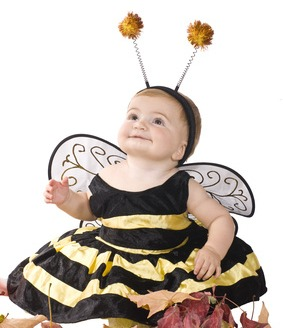 DIY Honeybee Halloween Costume for Infants and Toddlers