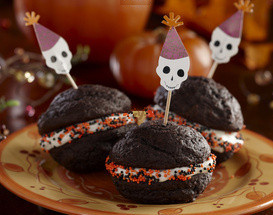 Halloween Chocolate Whoopie Pies Recipe