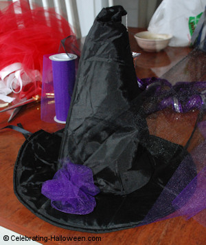 Halloween Witch Costume Hat
