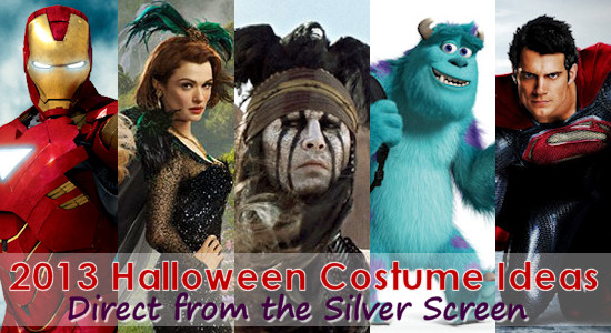 Movie Inspired Halloween Costumes for 2013